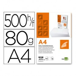 PAPEL LIDERPAPEL A4 80G/M2