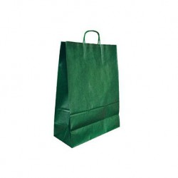 BOLSA KRAFT Q-CONNECT VERDE