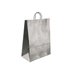 BOLSA KRAFT Q-CONNECT PLATA