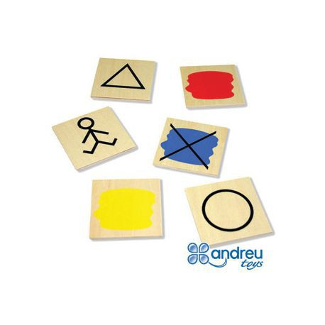 JUEGO ANDREUTOYS BLOQUES