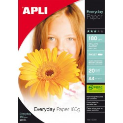 B.PAPEL EVERYDAY 180G. 20H