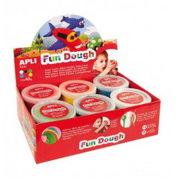 E X P.FUN DOUGH 40G RO VE AM AZ BL NG 12U